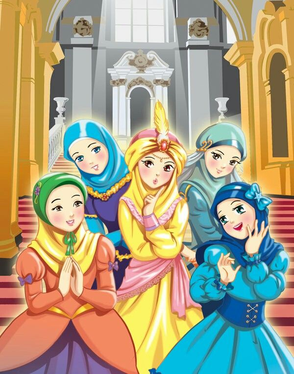 Beautiful Islamic Princesses