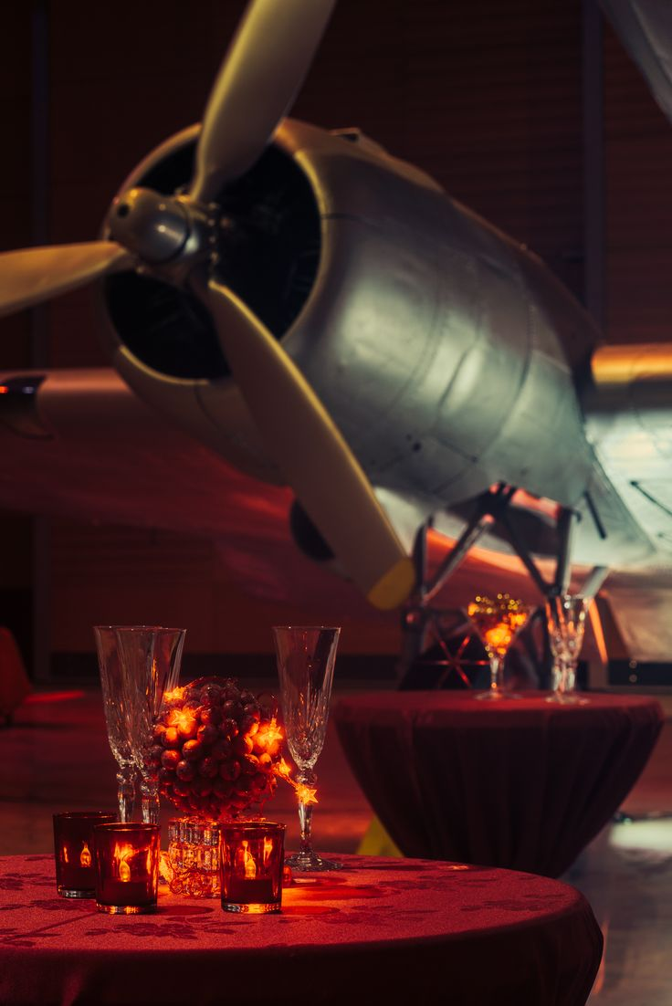 MOTAT's Aviation Display Hall #MOTAT #Aviation #Functions #Christmasparty #Corporateevent #Unique #Events #Party #Planes  www.motat.org.nz