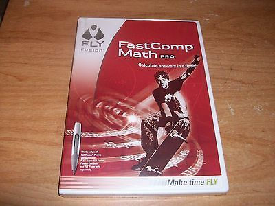 FLY Fusion FastComp Math Pro CD ROM (Pentop Computer, 2007) Homework Tools NEW
