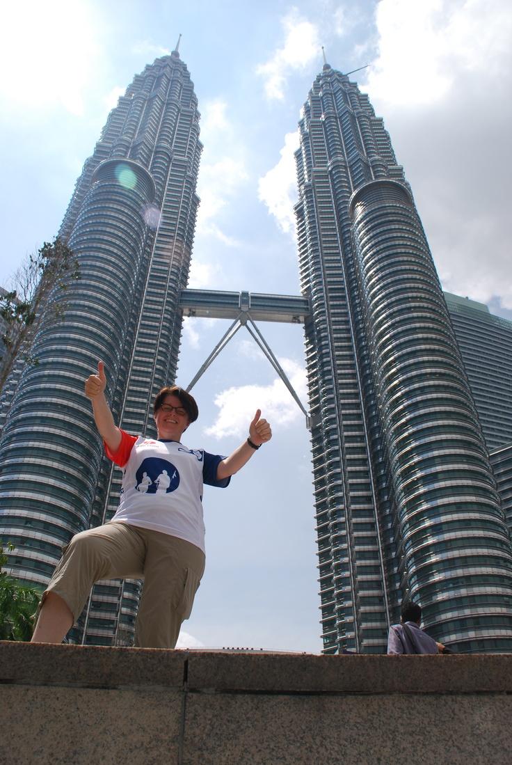 Nicole Huijbregts uit team 148 in Maleisie