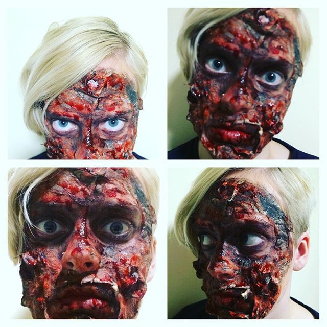 Beware of the one who walked through fire... I was actually afraid to look into mirrors with this one, haha! #sfx #specialeffects #sfxmakeup #makeup #scary #sfxatlas #fx #fxmakeup #instaeffectfx #fxmakeupartist