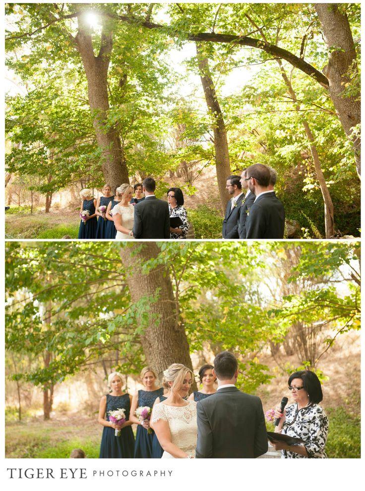 Adelaide Hills wedding ceremony - Tiger Eye Photography