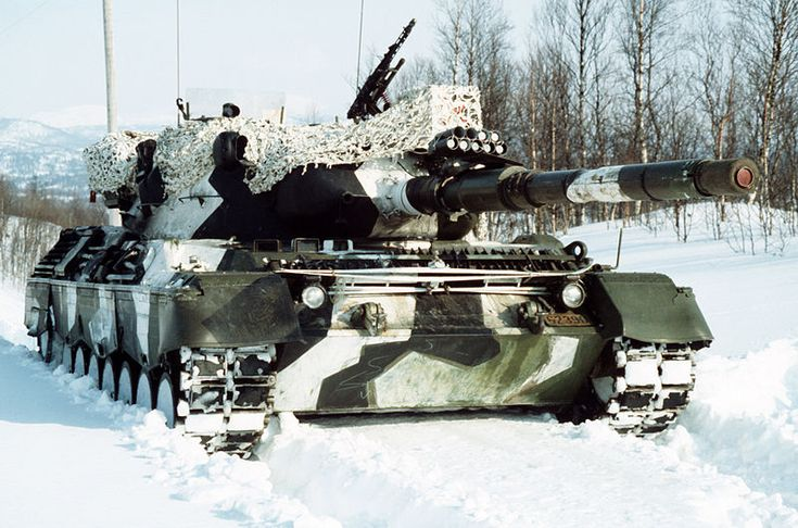 Leopard 1A5 - Norwegian Army MBT