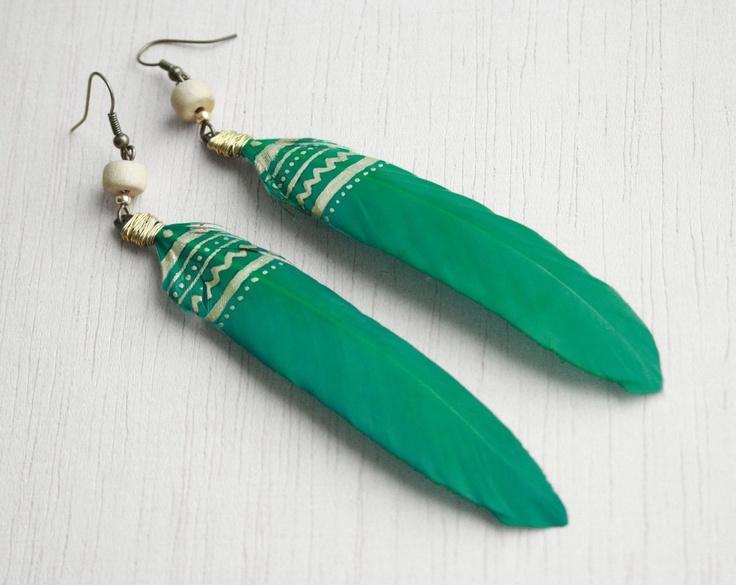 pene turquoise model tribal de juli Breslo