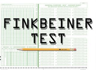 """The Finkbeiner test is a checklist proposed by journalist Christie Aschwanden to help journalists avoid gender bias in articles about women in science. To pass the test, an article about a female scientist must not mention: The fact that she's a woman Her husband's job Her child care arrangements How she nurtures her underlings How she was taken aback by the competitiveness in her field How she's such a role model for other women How she's the """"first woman to..."""""""