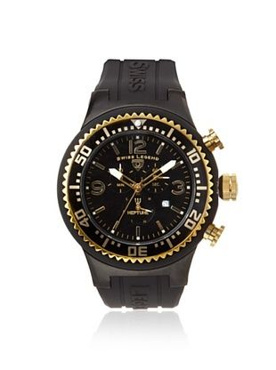 Swiss Legend Men's 11812P-BB-01-GA Neptune Chronograph Black Watch