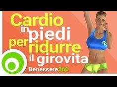 Allenamento Cardio in Piedi per Dimagrire Pancia, Fianchi e Girovita - YouTube