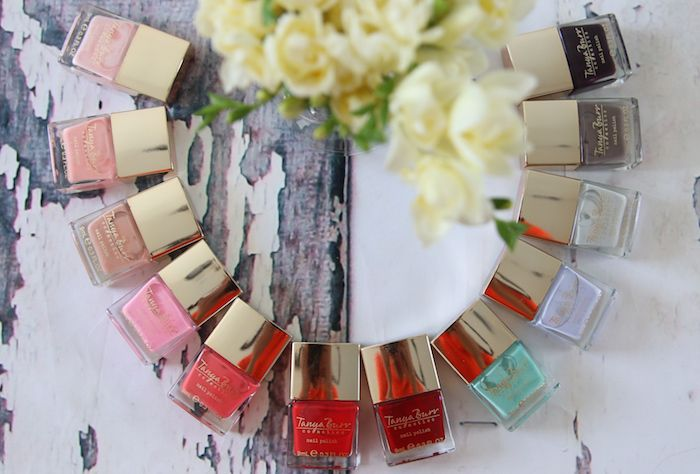 Tanya Burr Cosmetics nail polishes