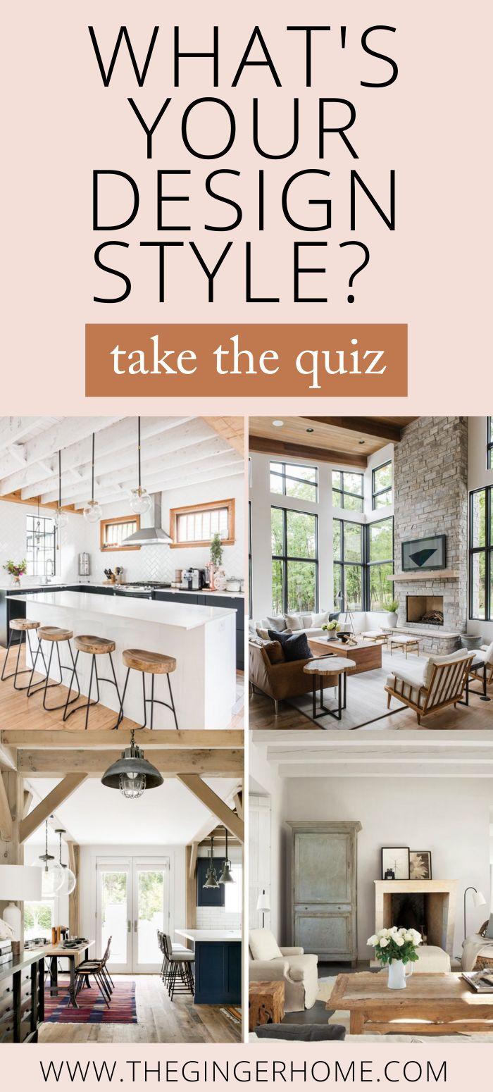 How To Determine Your Design Style Interior Design Styles Quiz Design Style Quiz Decorating Styles Quiz