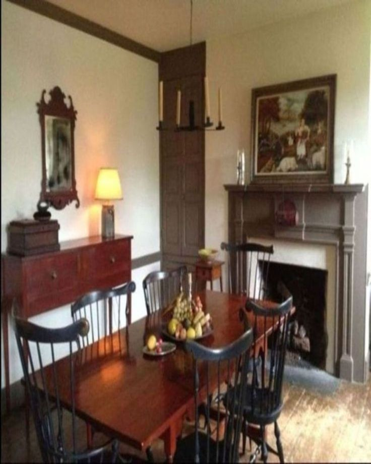 395 Best Primitive/Colonial Dining Rooms Images On