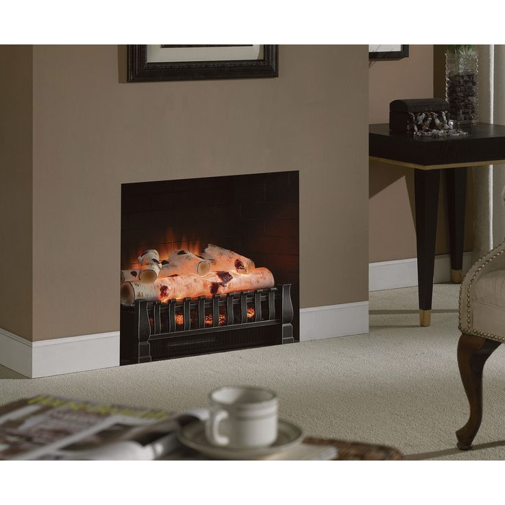 duraflame birch log electric fireplace insert u2014 btu watts wwwkotulas