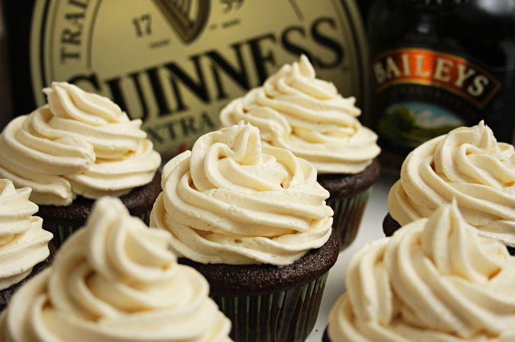 """Irish Car Bomb Cupcake"" Recipe"