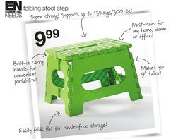 Essential Needs Folding Stool Step From Home Outfitters 9