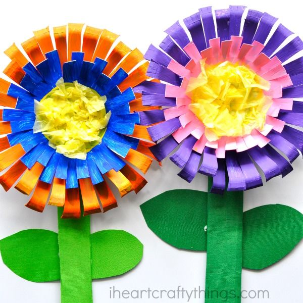 Best 25 flower crafts kids ideas on pinterest spring for Art and craft flowers