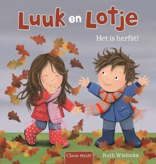 Luuk en Lotje auteur: Ruth Wielockx Een vrolijk en eenvoudig verhaal over de herfst. Voor peuters vanaf 3O maanden.