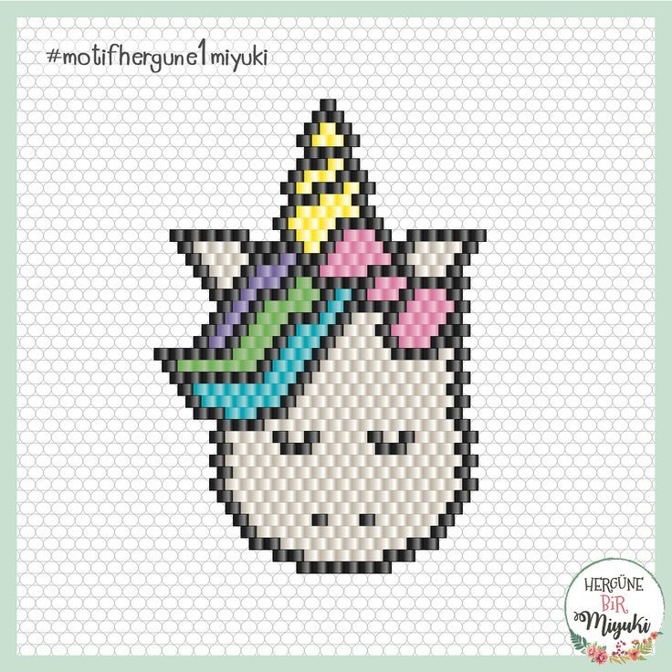 Happy New Year 2019 Different Unicorn Quotes Bead Loom
