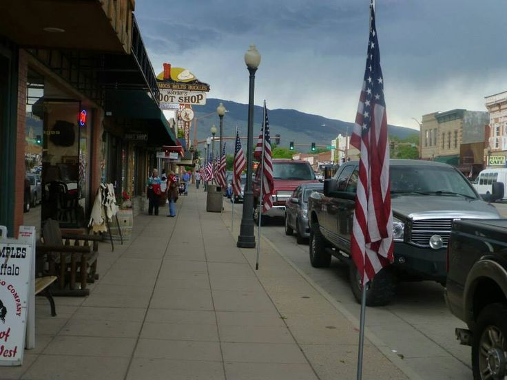 Cody, Wyoming. Great Western town. Saw the famous Cody rodeo.