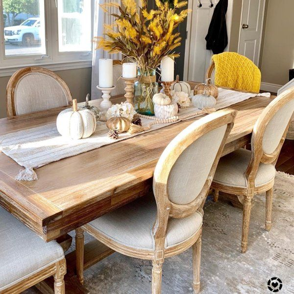 Bradding Natural Stonewash Dining Tables Pier 1 Fall Dining Room Fall Dining Room Table Dining Room Centerpiece