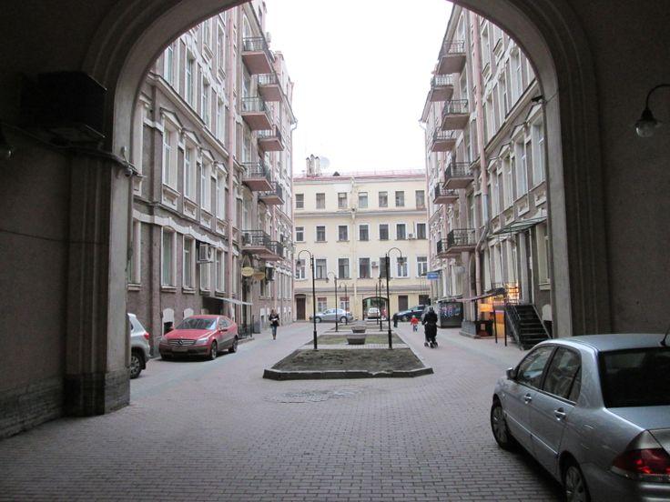 арка на Невском..