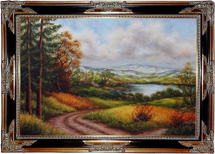 Landschaft Original moderne Ölmalerei Handmalerei Ölgemälde kaufen Kunstmalerei