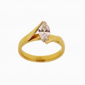 RINGS :: 18Y MARQUISE DIAMOND .72GSI1 CORNER CLAW REVERSE SHOULDER - Shopping Cart Software & Ecommerce Software Solutions by CS-Cart