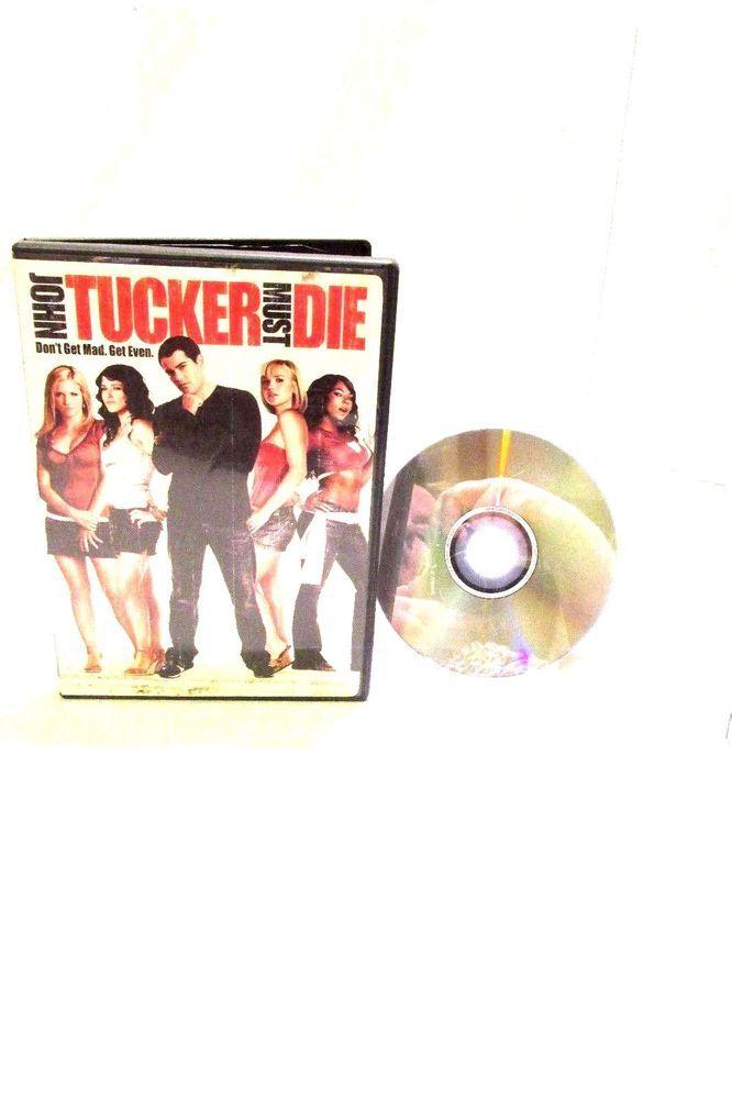 John Tucker Must Die DVD Movie 2006 Dual Side PG13 Comedy