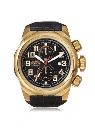 81% OFF Invicta Men's 15069 Pro Diver Black Genuine Leather Watch