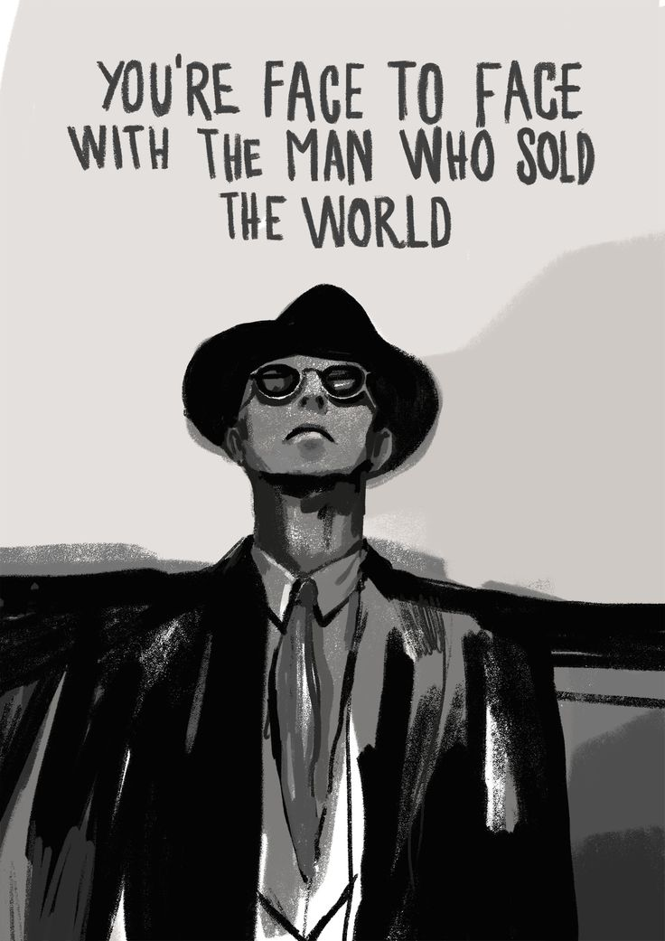 David Bowie. The man who sold the world.