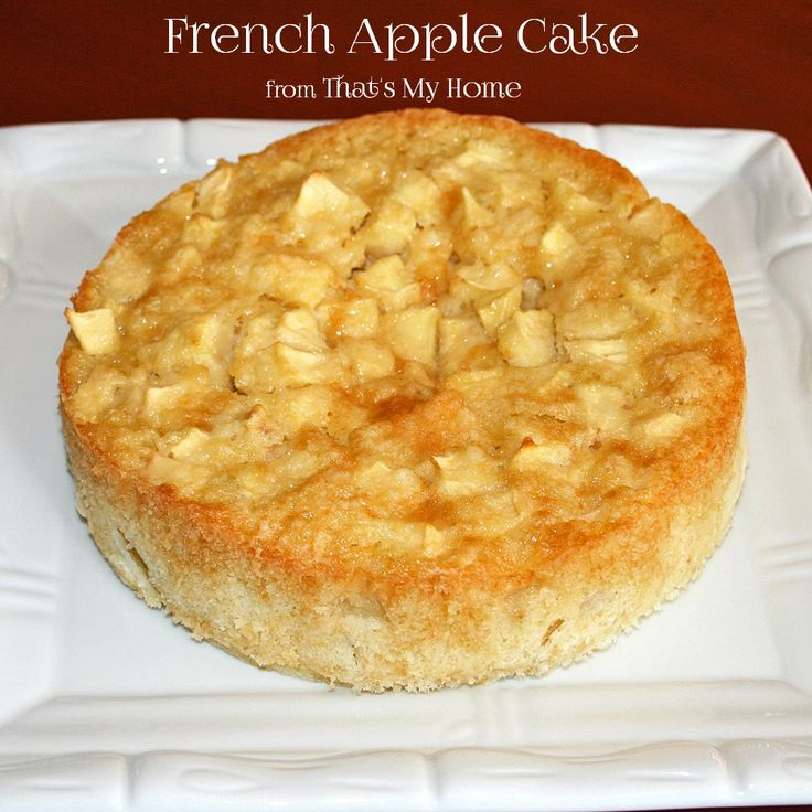 apple cake apple cake recipes apple cakes french apple cake rum cake ...