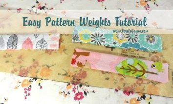 Easy Pattern Weights lorelei Jayne