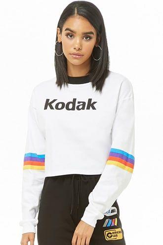90a1f672e Kodak Logo Graphic Top in 2019 | Products | Kodak logo, Tops, Forever 21