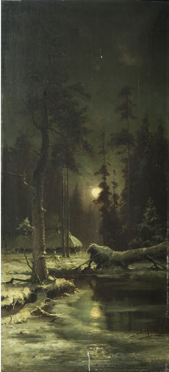 Клевер Юлий Юльевич (1850-1924) «Ночь»