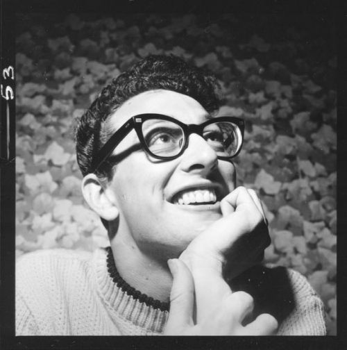 Buddy Holly...love him!!! I was born in the wrong time.