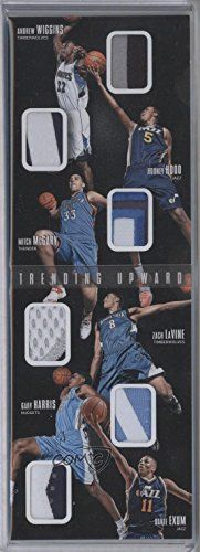 Gary Harris; Andrew Wiggins; Dante Exum; Mitch McGary; Rodney Hood; Zach LaVine #5/25 (Basketball Card) 2014-15 Panini Preferred - Trending Upward Booklets - Prime #4 -  http://www.wahmmo.com/gary-harris-andrew-wiggins-dante-exum-mitch-mcgary-rodney-hood-zach-lavine-525-basketball-card-2014-15-panini-preferred-trending-upward-booklets-prime-4/ -  - WAHMMO