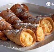 Tortillas de Carnaval con calabaza. Receta canaria