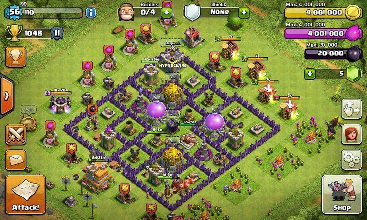 My base farming coc 2
