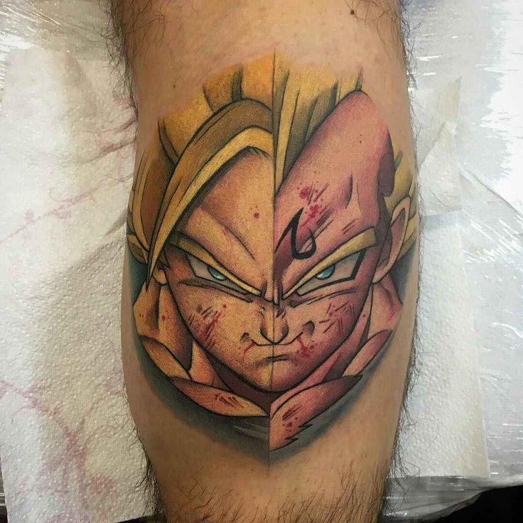 Enrik Gispert-#tatuaje Goku y Vegeta