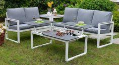 Belice trädgårdsgrupp – Vit/grå från Mellby Garden hos ConfidentLiving.se