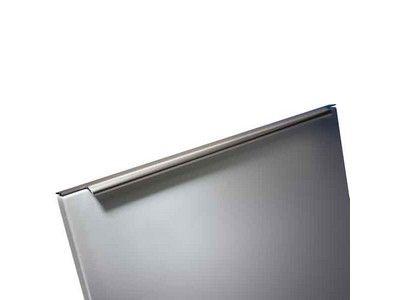 Profile handle, matt aluminium