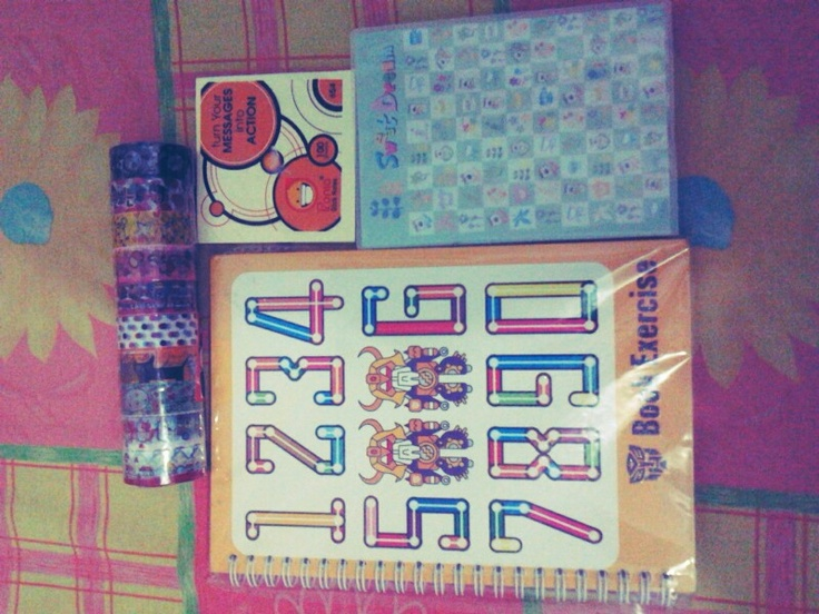 another stuff that i already bought it,actually i love stationery,so we can say that i collecting them ;)
