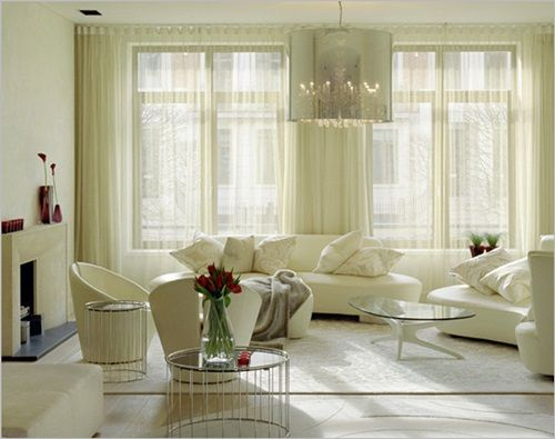 Perfect Luxurious Modern Living Room Curtain Design