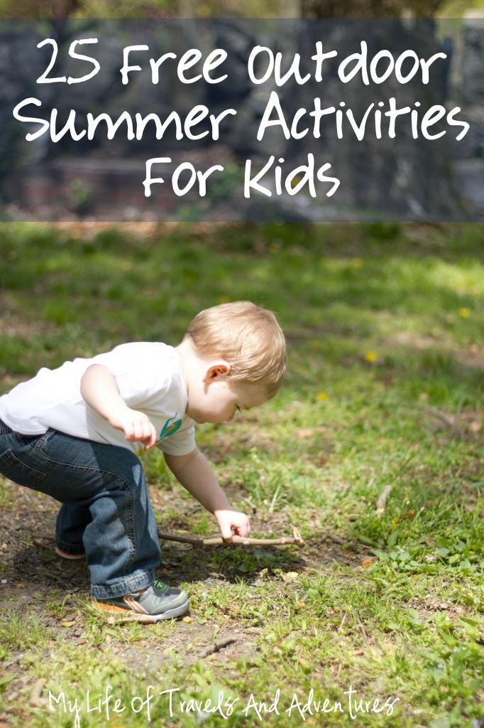 25 Free Outdoor Summer Activities for Kids