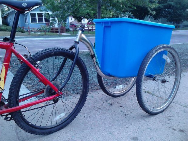 Simple No-Weld Bike Trailer