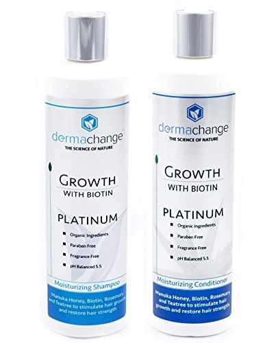 Organic Argan Oil and Biotin Hair Growth Shampoo Conditoiner Set  Sulfate Free  Support Regrowth Volumizing  Moisturizing Soft on Curly  Color Treated Hair For Men and Woman ** Check out this great product.