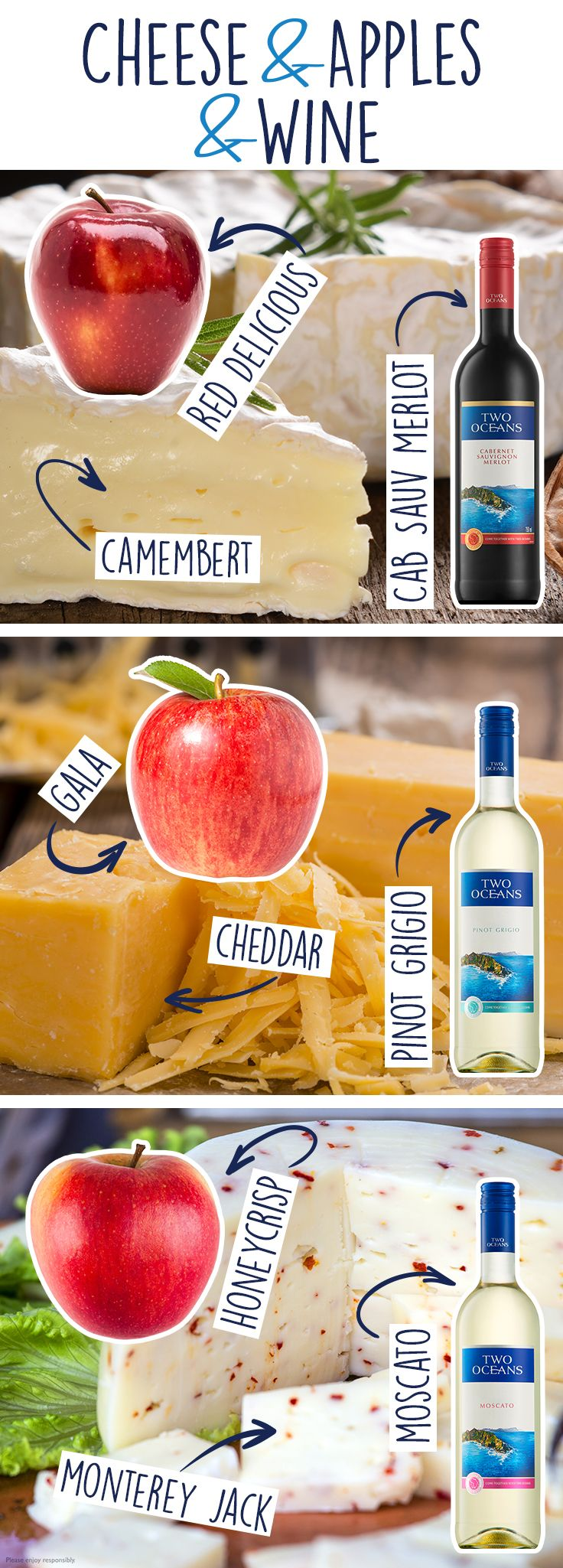 The season of plenty is here! Here are a few wine and cheese pairings to help you make the most of your bounty.