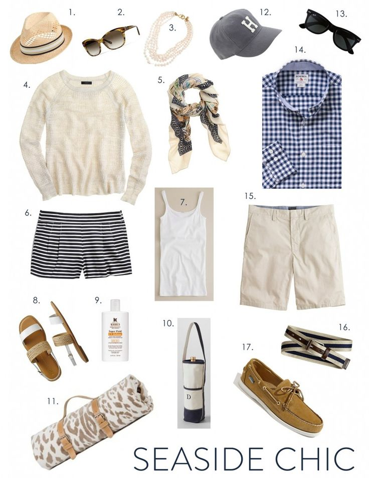 Fashion Friday: New England Seaside Chic - elements of style