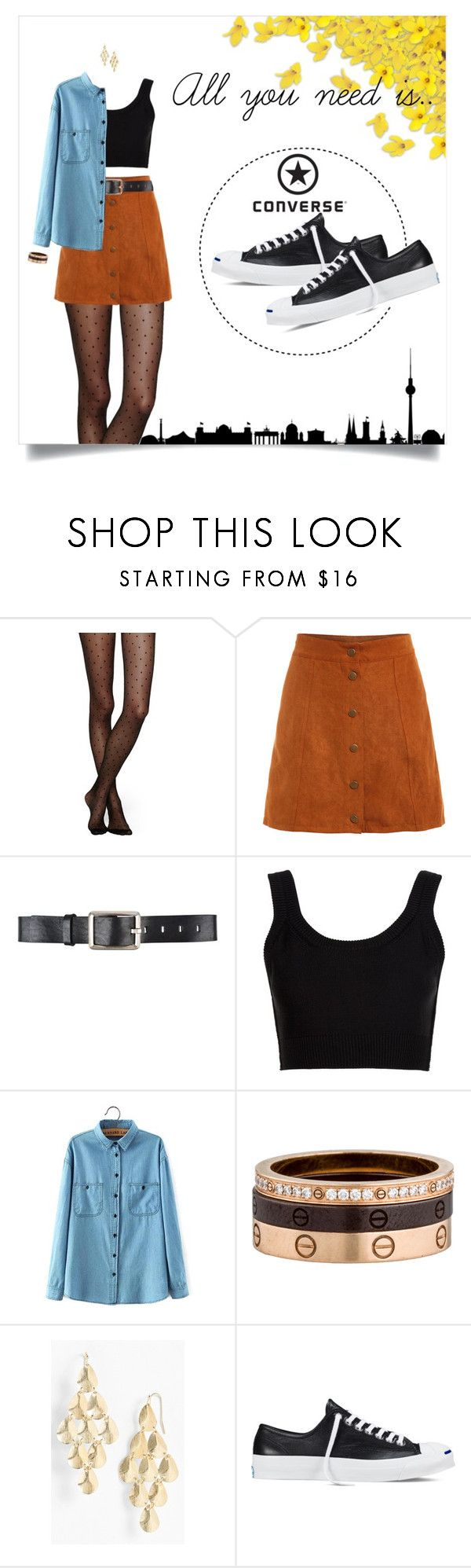 """All you need is.."" by priscilla14ster on Polyvore featuring moda, Converse, Kate Spade, Belstaff, Calvin Klein Collection, Cartier, Nordstrom, converse e ootd"