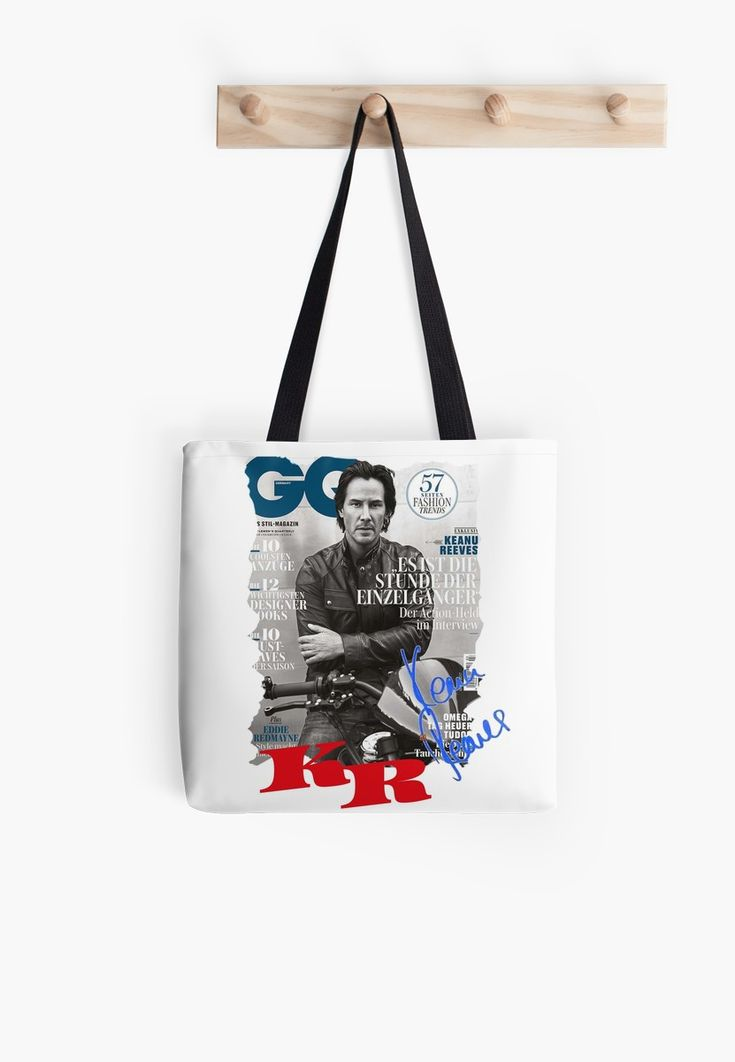 Keanu Reeves GO Magazine (With His Signature) • Also buy this artwork on bags, apparel, stickers, and more.