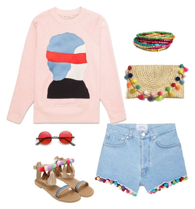 """""""Pompons"""" by sheere on Polyvore featuring moda i Forte Couture"""