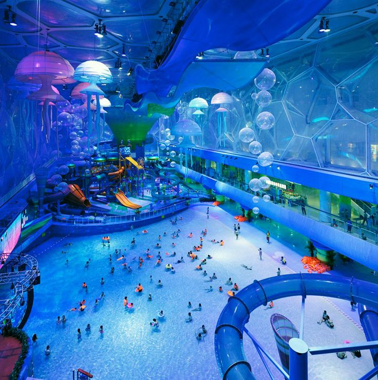 After the amazing success of the Water Cube in Beijing for the 2008 Summer Olympics, the aquatic center has been transformed into an incredible (and massive) indoor water park. Description from pinterest.com. I searched for this on bing.com/images
